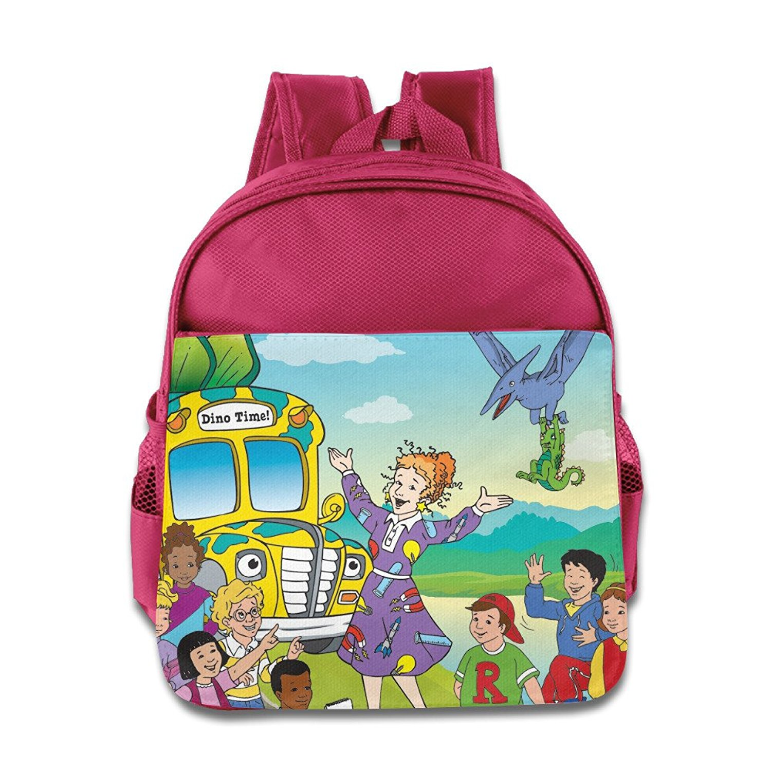 d826fe4f46a8 Get Quotations · Toddler Kids The Magic School Bus School Backpack Cool Children  School Bags