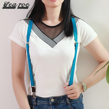 2 cm Y shape elastic fashion suspenders for women cheap