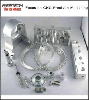 HOT!! aluminium alloy precision CNC machining parts made in China