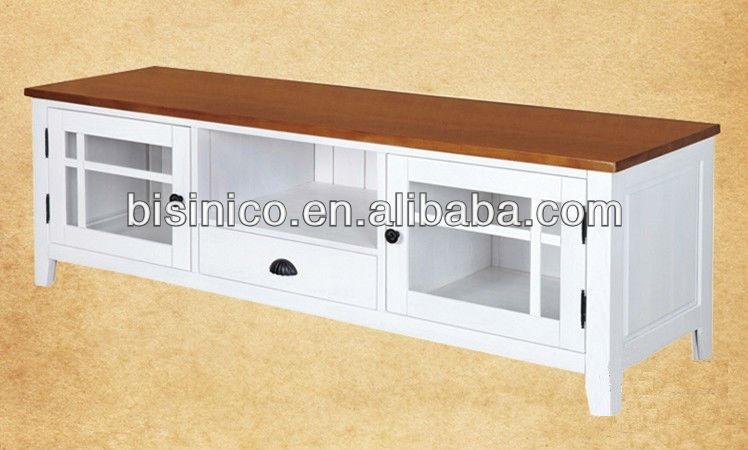 Anglais naturel style campagnard mobilier de salon Meuble tv style anglais