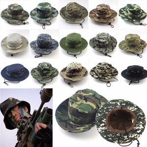 gorras planas Bucket Boonie Hats Military Men Hunting Caps Wide Brim Unisex Outdoor Fishing