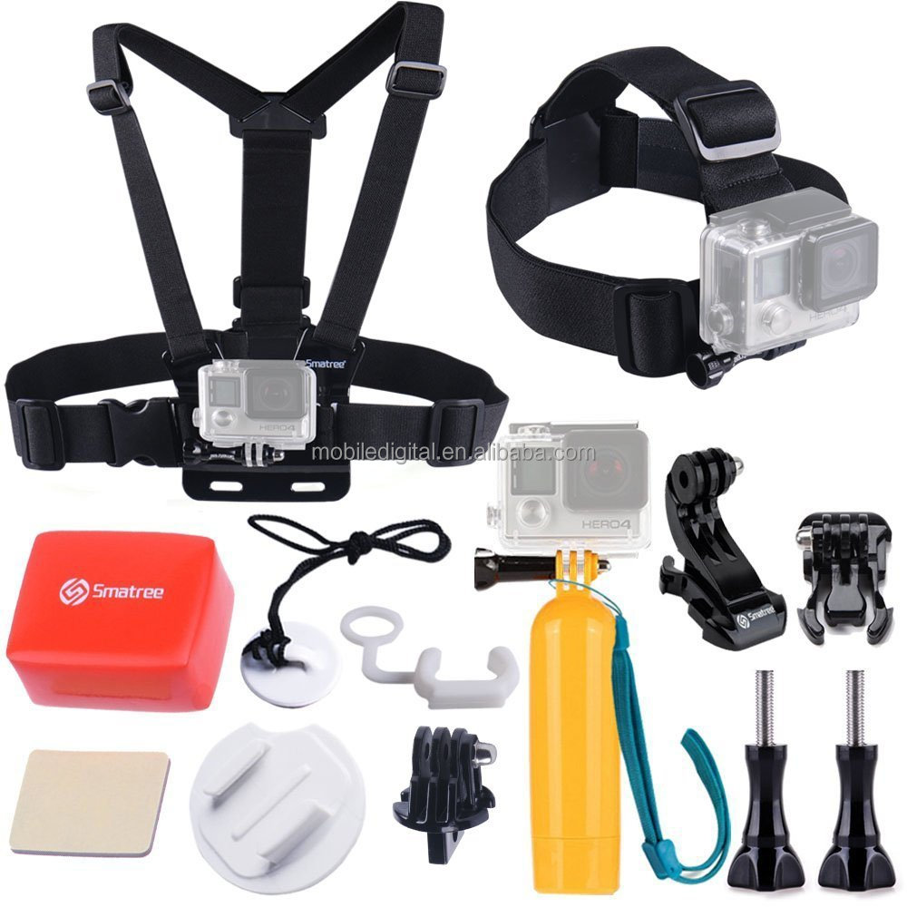 2015 go pro accessories head chest strap mount kit for sport camera gopros hero4