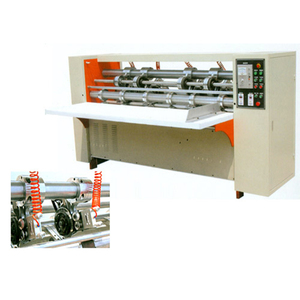 Auto Paper Feeder Slitter Scorer Machine/2-layer corrugated paperboard production line