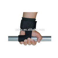 Padded Weight Lifting Training Gym Straps Hand Bar Wrist Support