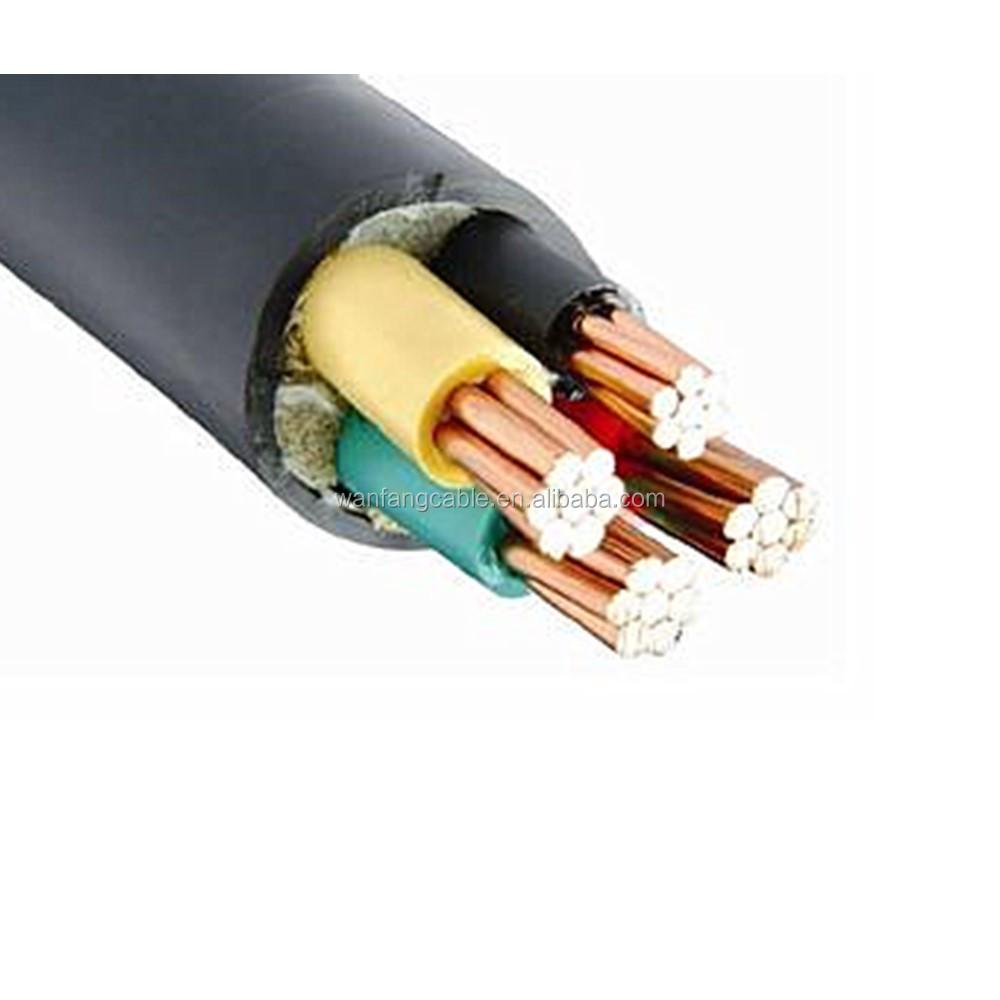 Precio de baja tensi n con aislamiento de pvc de 4 n cleos - Cable electrico barato ...