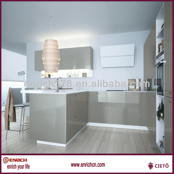 High Gloss Grey Lacquer Kitchen Cabinet High Gloss Grey Lacquer – High Gloss Lacquer Kitchen Cabinets