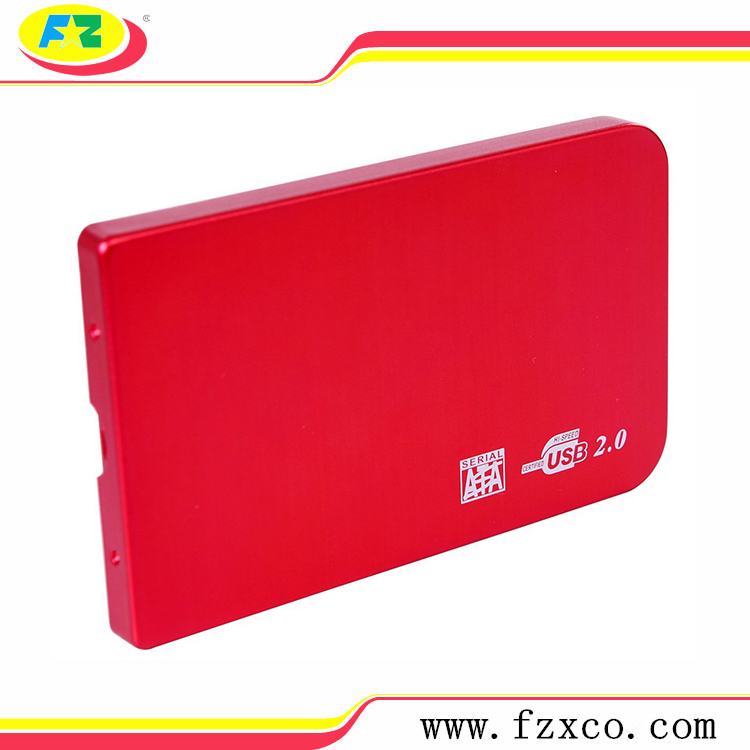 usb2.0 to 2.5 lan sata hdd enclosure
