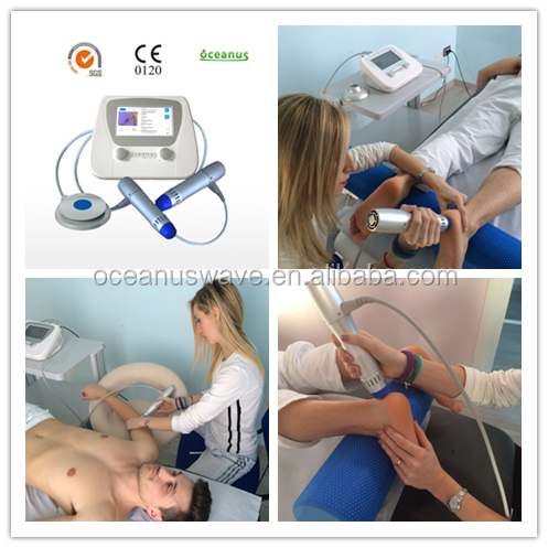 Extracorporal Shock Wave Therapy device/ESWT/for Knee Ligament & Cartilage Injuries(double end)