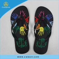 high quality rubber men's flip flops