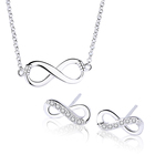 925 Sterling Silver Personalized Infinity 보석