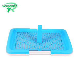 Wholesale plastic indoor automatic male dog toilet large pet pee tray