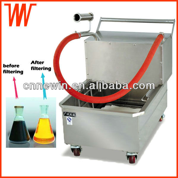 Stainless Steel Frying Oil Filter System