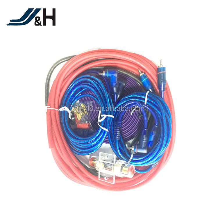 High Quality OFC/CCA Audio Cable 4AWG Car Amplifier Wiring Kit
