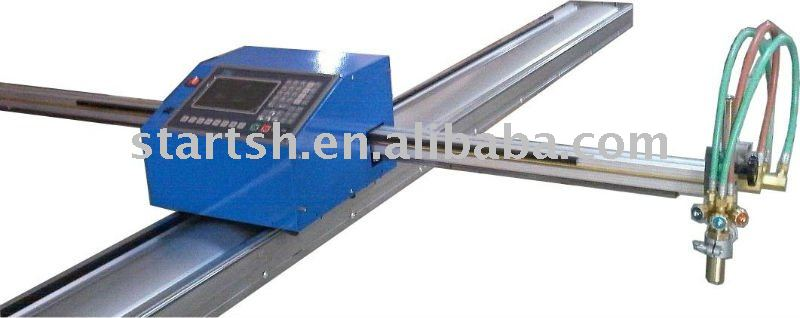 mini cnc plasma and flame cutting machine