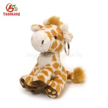 Wholesale Cute Mini Stuffed Plush Giraffe Keychain Buy Plush