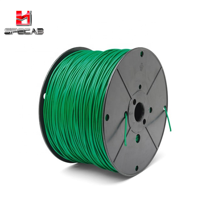 CE RoHS Green automower robot lawn mower cable 2.7mm 3.8mm Shielded and PE insulation boundary <strong>wire</strong>