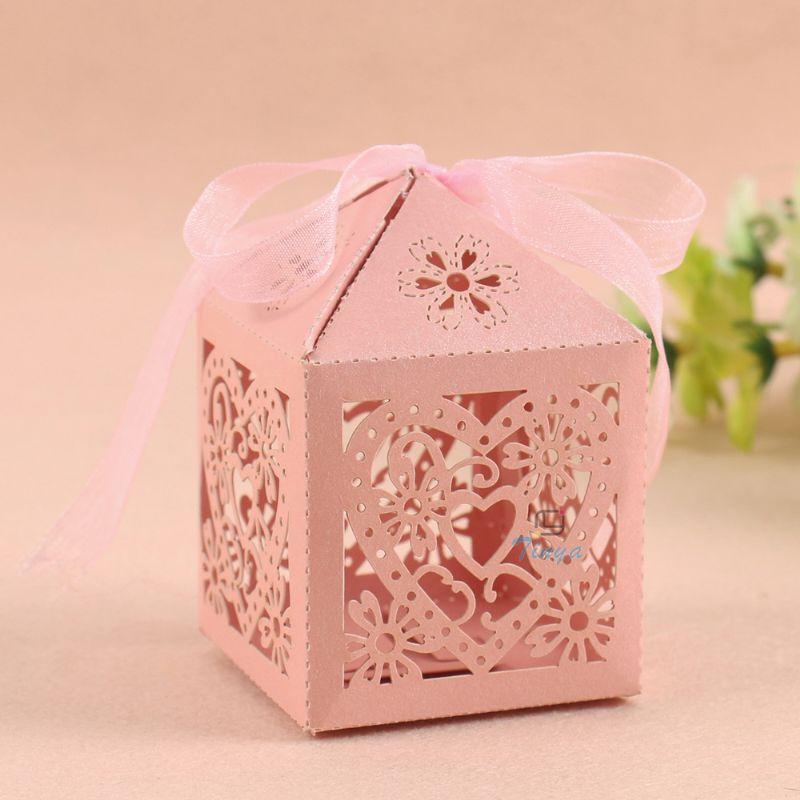 Elegant Wedding Gift: Laser Cut Elegant Wedding Door Gift Box