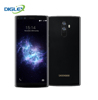 "Original Doogee MIX 2 6GB+64GB Two Rear Two Front Camera smartphone 6.0""FHD+ Helio Octa Core Android7.1 Cellphone"