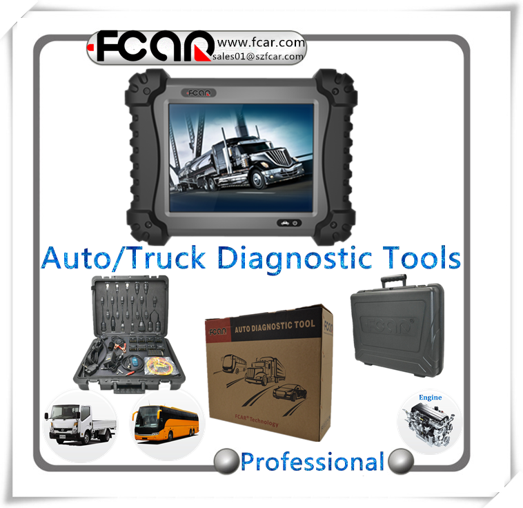 auto universal diagnostic scanner F3-G truck diagnostic tool