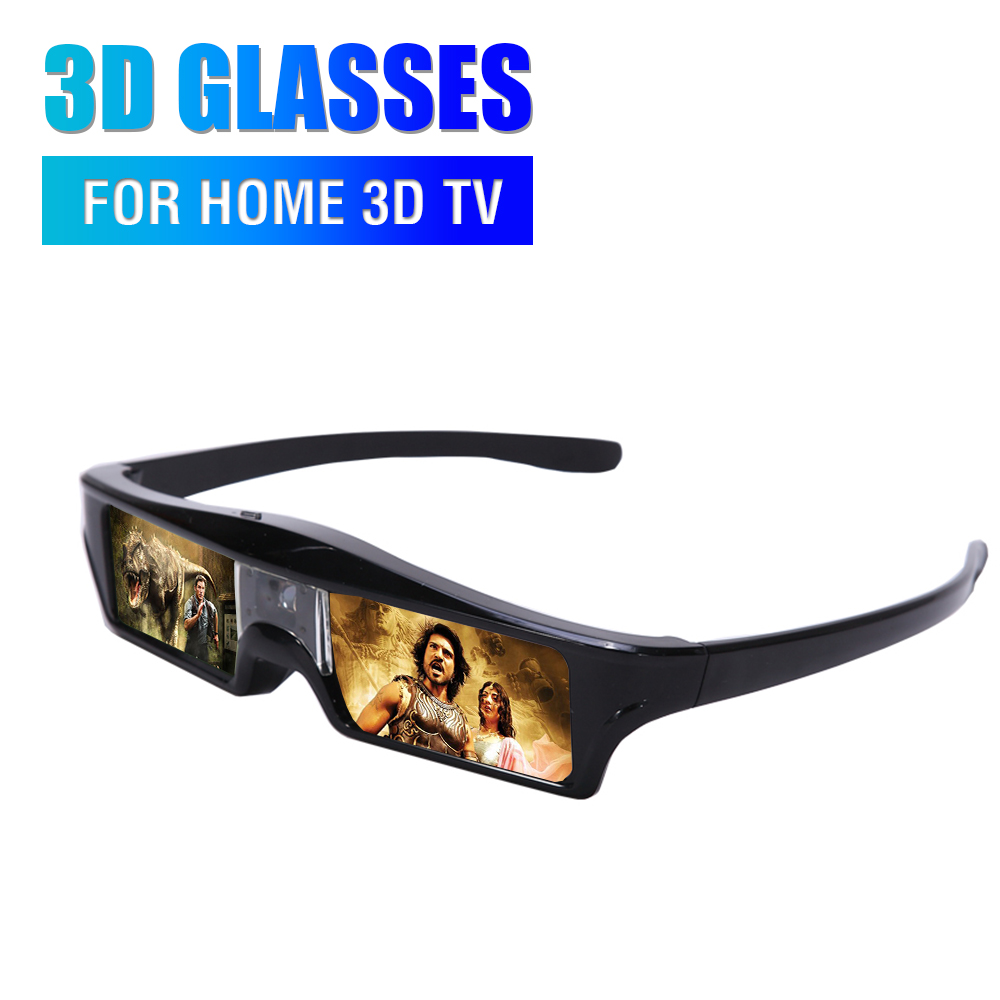 home shutter 3D glass built in batery left right 3D glasses