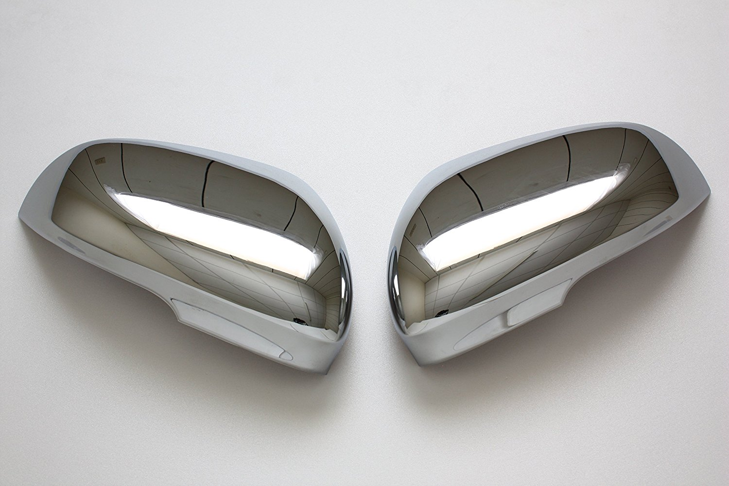 B2 2010 2011 Jaguar XF XK XFR XKR Chrome Door Mirror Covers