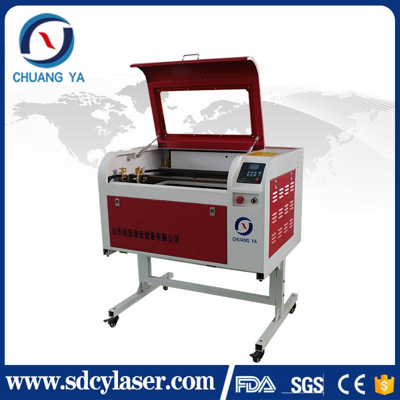CY-B4060 New hobby customized 60W 400*600mm CNC CO2 Laser Engraver 6040 Engraving Cutting Machine USB port china