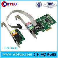8channeI CMI8768 PCI express Sound card