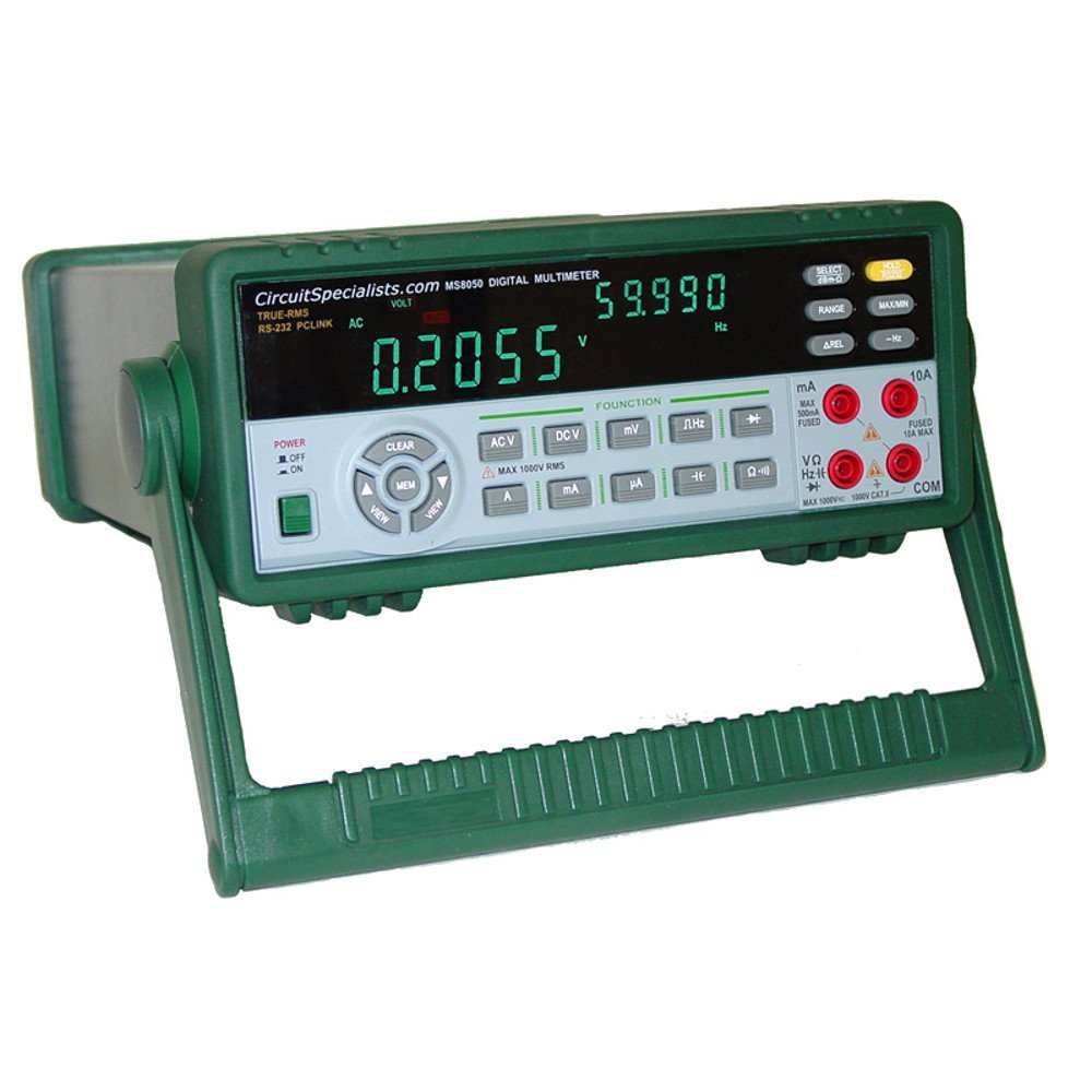 True-RMS 53,000-Count Bench Digital Multimeter