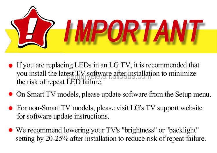500tt41v4 Led Backlight Strip For  Philips-50pft4009-12/11800653b0/tpt50j1-le8 - Buy Smd Led For Tv  Backlight,Lb-c490f13-e2-l-g1-ld8/lb49002 V1,For