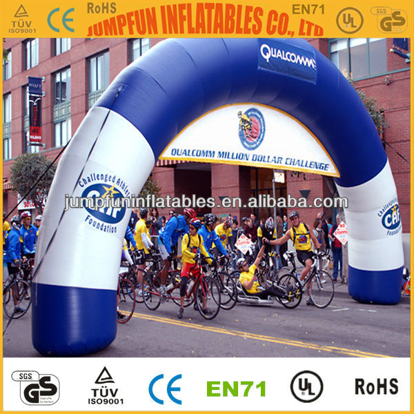 Running race inflatable arch with good price