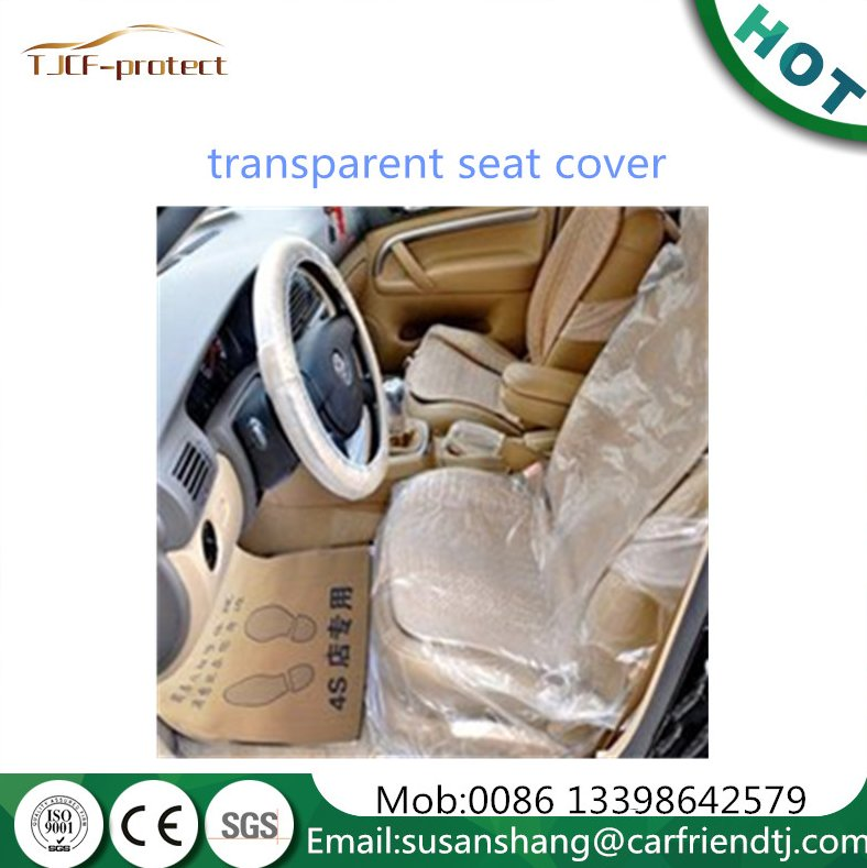 disposable plastic car seat cover 200pcs a roll for protection of auto maintenance and protect