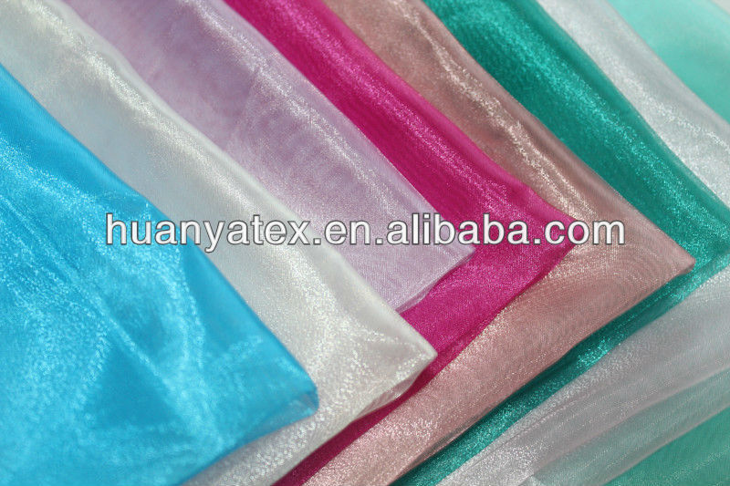 crystal tulle fabric