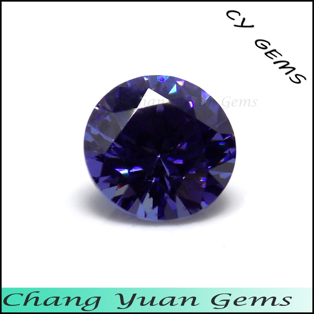 tanzanite carat gemston colonial round brilliant image gems products