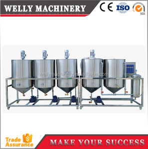 Factory price stable running small food oil refining plant