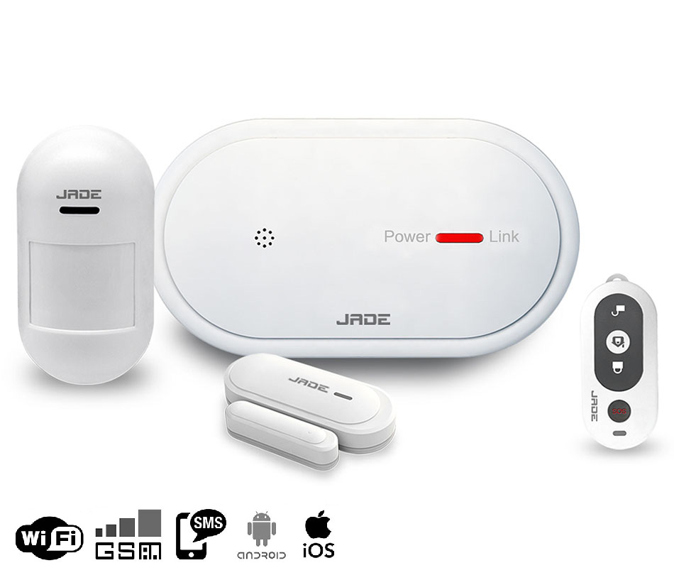 WIFI/<strong>GSM</strong>/APP wireless home alarm system