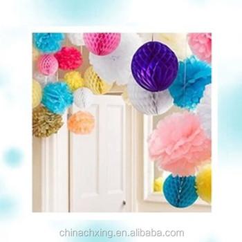 Decoration wedding hanging paper flower ballspompoms for christmas decoration wedding hanging paper flower ballspompoms for christmas and happy new year mightylinksfo