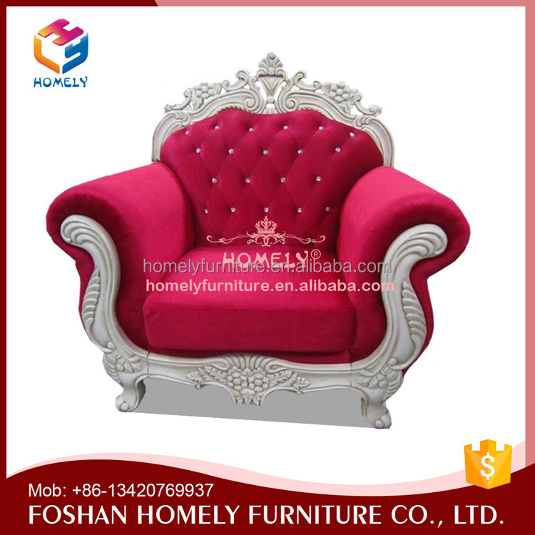 Luxury Classic Hotel Furniture Fashionable Royal Sofa Manufacturers