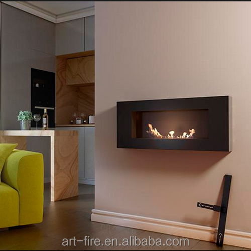 Deco Flame Wall Mount Design Intelligent Ethanol Fireplaces With
