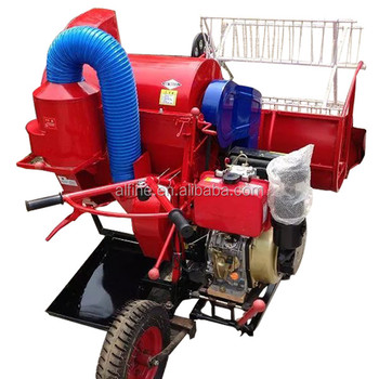 New design high efficiency mini combine harvester for sale