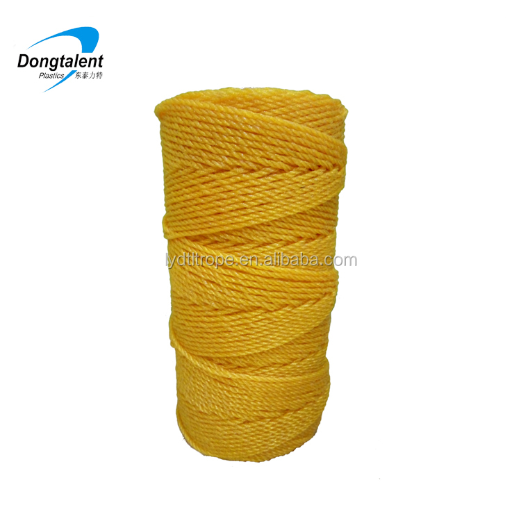 Polypropylene 210d/36 rope pe pp nylon fishing twine