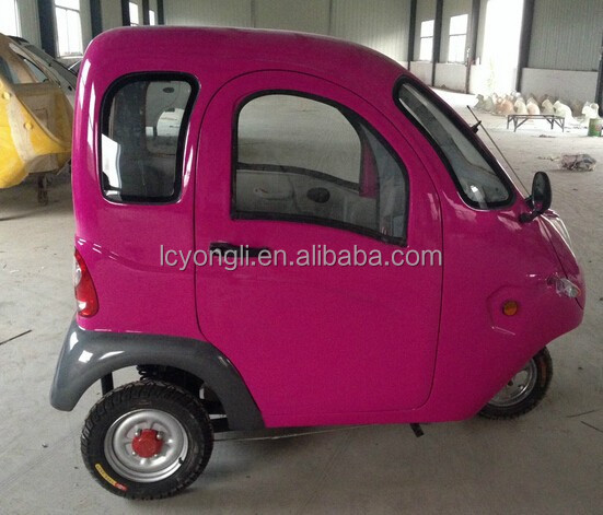 3 wheel pretty smart electric cars made in China (SQ-E)