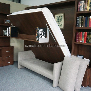 space saving folding sofa bedpull down bedpull out bed