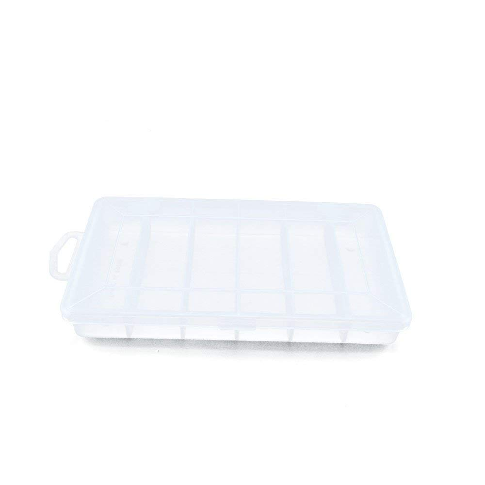 10 PCS Clear Beads Tackle Box Arts Crafts Tackle Storage Plastic Boxes Organizers Containers Case XX030