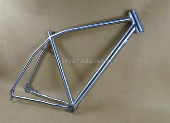 CX bike frame internal cable running titanium cyclocross frame