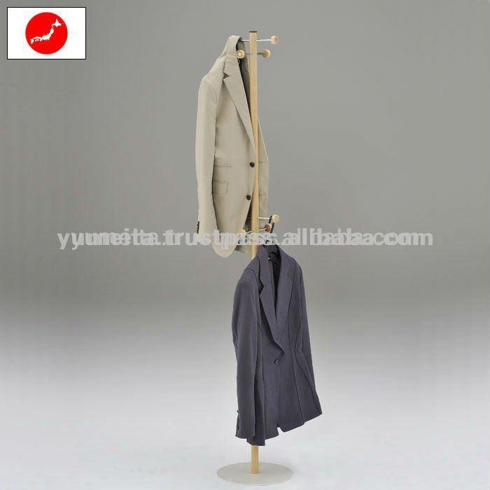 hochwertige japanische möbel woodtone kleiderbügel stehen-Andere ...