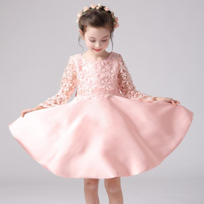 cba62c27e Zm42789a 2016 Baby Girl Party Dress Children Frocks Designs Casual ...