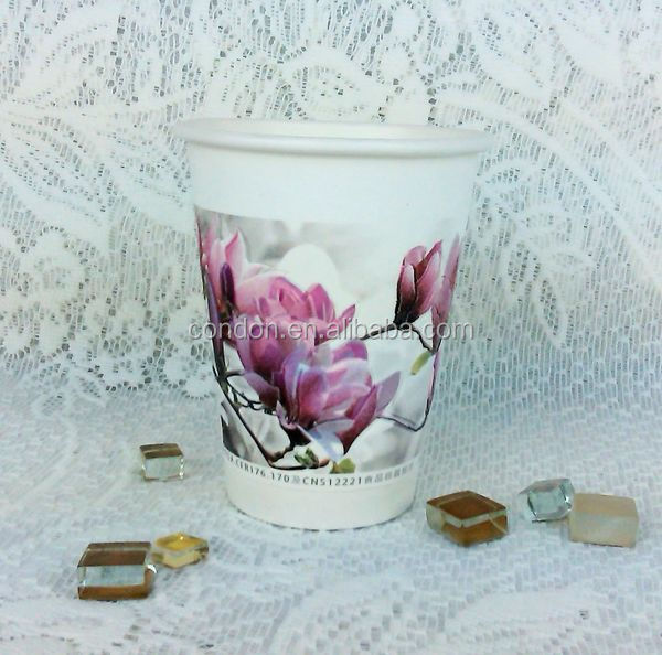 flower paper cups from Taiwan