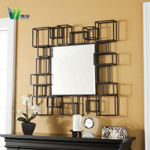 OEM Round Natural Rattan Mirror For Sale/handmade Decorative Wall Mirror