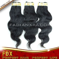2012 new coming woven hair/ sew in/ real human hair wig/machine weft