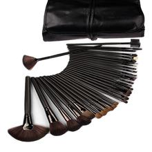 Promotion!Lowest Price! 32 pcs 32pcs Cosmetic Facial Make up Brush Kit Make up Brushes Tools Set + Black Pouch Bag